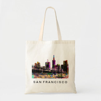 San Francisco in graffiti Tote Bag
