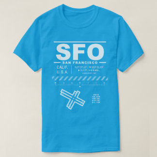 San Francisco International Airport SFO T-Shirt