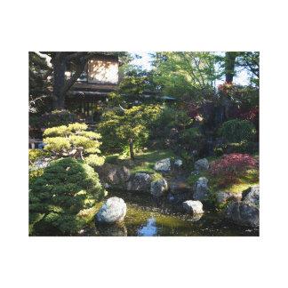 San Francisco Japanese Tea Garden #2 Canvas
