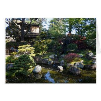 San Francisco Japanese Tea Garden #2 Card