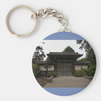 San Francisco Japanese Tea Garden #4 Keychain