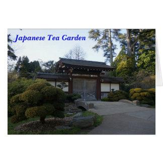 San Francisco Japanese Tea Garden #5 Card