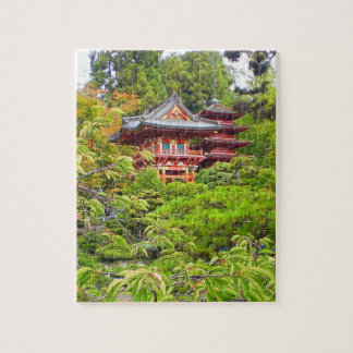 San Francisco Japanese Tea Garden #7 Jigsaw Puzzle