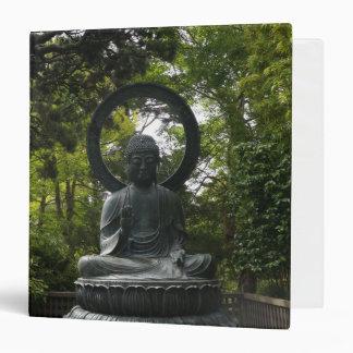 San Francisco Japanese Tea Garden Buddha Binder