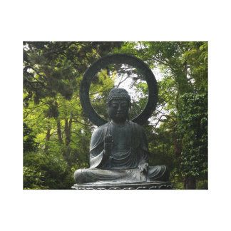 San Francisco Japanese Tea Garden Buddha Canvas