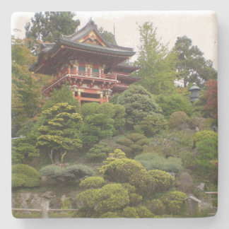 San Francisco Japanese Tea Garden Coaster Stone Beverage Coaster