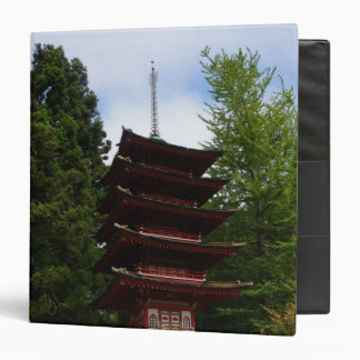 San Francisco Japanese Tea Garden Pagoda Binder