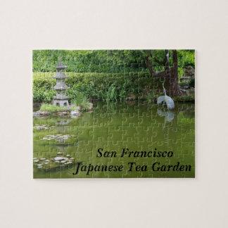 San Francisco Japanese Tea Garden Pond #2 Puzzle