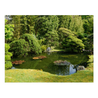 San Francisco Japanese Tea Garden Pond #3 Postcard