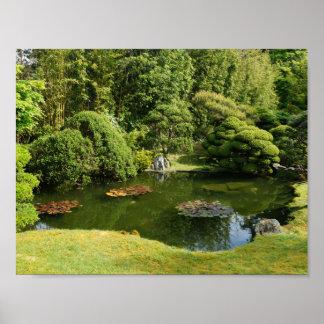 San Francisco Japanese Tea Garden Pond #3 Poster