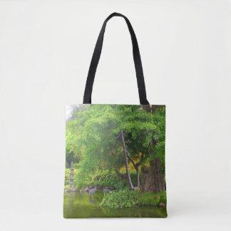 San Francisco Japanese Tea Garden Pond #4 Tote Bag