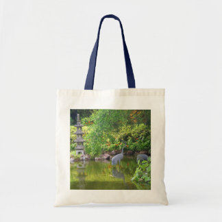 San Francisco Japanese Tea Garden Pond #5 Tote Bag