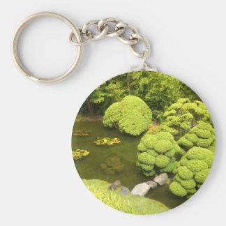 San Francisco Japanese Tea Garden Pond #6 Keychain