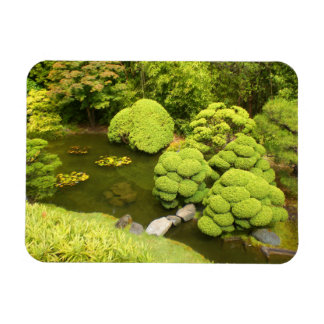 San Francisco Japanese Tea Garden Pond #6 Magnet
