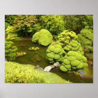 San Francisco Japanese Tea Garden Pond #6 Poster