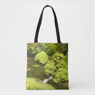 San Francisco Japanese Tea Garden Pond #6 Tote Bag