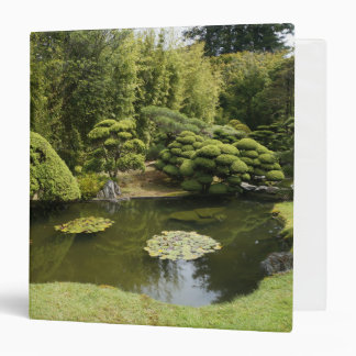 San Francisco Japanese Tea Garden Pond Binder