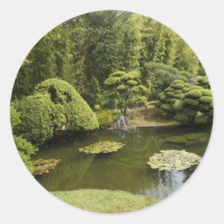 San Francisco Japanese Tea Garden Pond Stickers