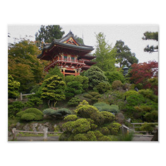 San Francisco Japanese Tea Garden Poster