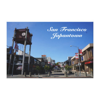 San Francisco Japantown Osaka Way Canvas