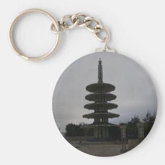 San Francisco Japantown Peace Pagoda #2 Keychain