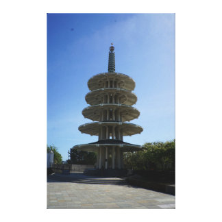San Francisco Japantown Peace Pagoda #3 Canvas
