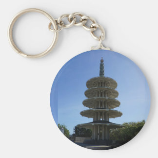 San Francisco Japantown Peace Pagoda #3 Keychain