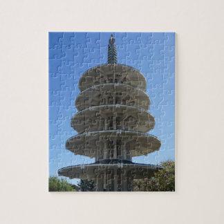 San Francisco Japantown Peace Pagoda Jigsaw Puzzle
