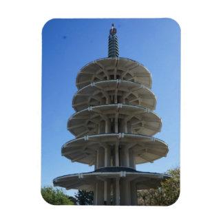San Francisco Japantown Peace Pagoda Photo Magnet