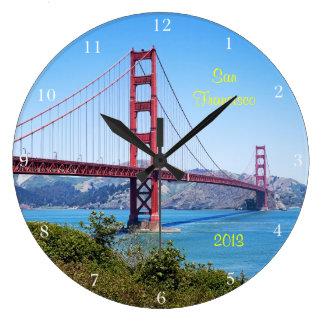 San Francisco Keepsake Large Clock