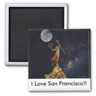 San Francisco Kitchen Magnet