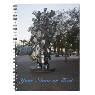 San Francisco LaChiffonniere Sculpture #2 Notebook