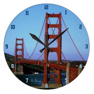 San Francisco Large Clock