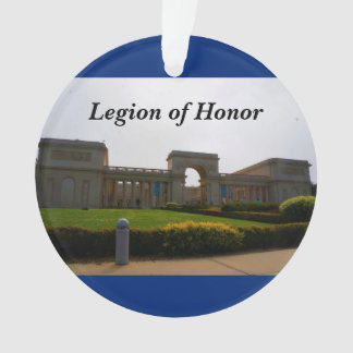 San Francisco Legion of Honor Blue Ornament