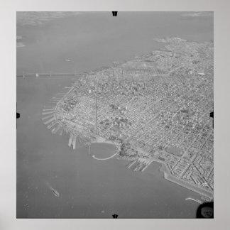 San Francisco – Marina Bay and Bridge '49 Poster