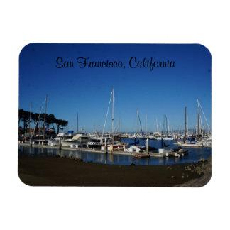 San Francisco Marina Yacht Harbor Magnet