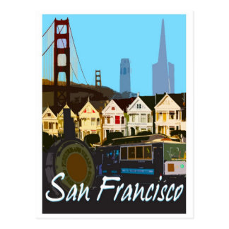 San Francisco Montage Postcard