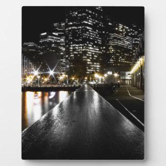 San Francisco Night Plaque
