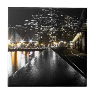 San Francisco Night Tile