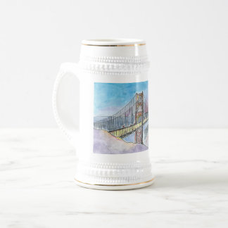San Francisco–Oakland Bay Bridge Beer Stein