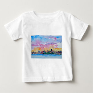 San Francisco of the dawn sunset Baby T-Shirt