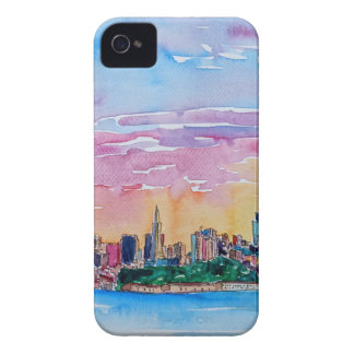 San Francisco of the dawn sunset iPhone 4 Case-Mate Cases