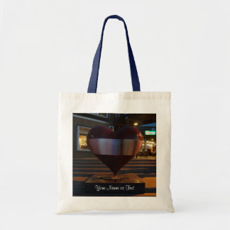 San Francisco Open Heart Tote Bag