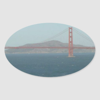 SAN FRANCISCO OVAL STICKER