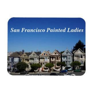 San Francisco Painted Ladies #3 Magnet