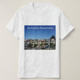 San Francisco Painted Ladies #3 T-shirt