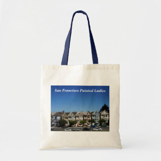 San Francisco Painted Ladies #3 Tote Bag