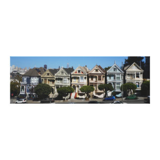 San Francisco Painted Ladies #4 Canvas