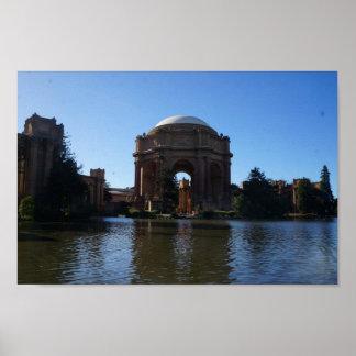 San Francisco Palace of Fine Arts #4 Poster