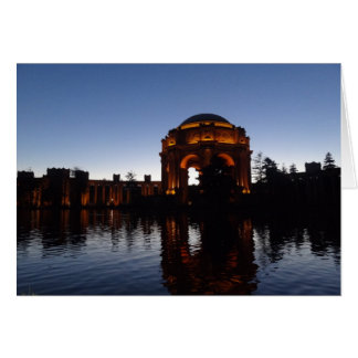 San Francisco Palace of Fine Arts Card